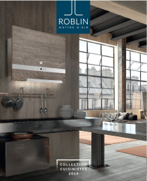 Catalogue Roblin Cuisinistes 2019